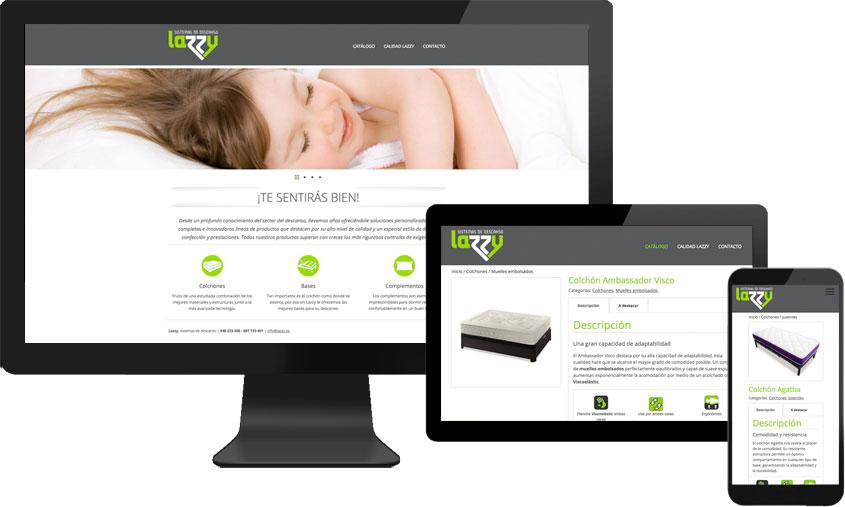 Lazzy, sistemas de descanso