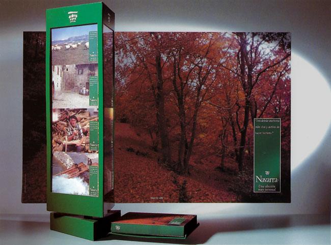 Display Colección de postales