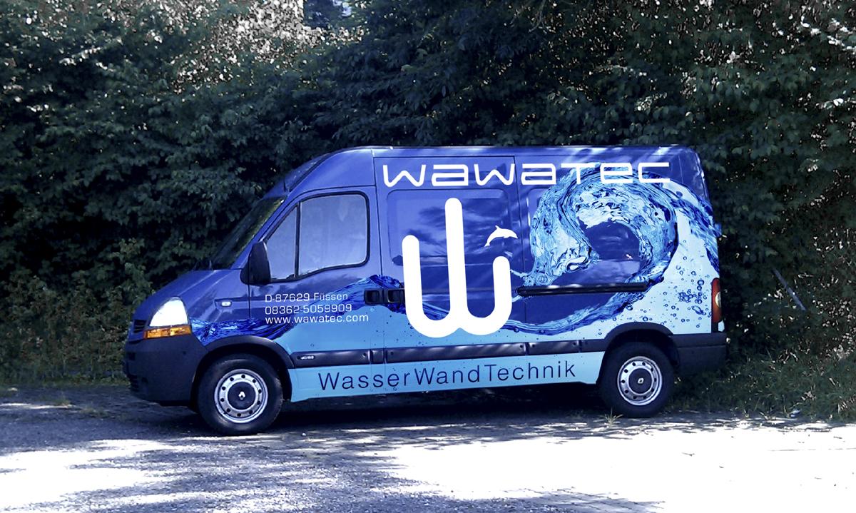 Wawatec Wasserwand Technik - Rotulación de parque móvil