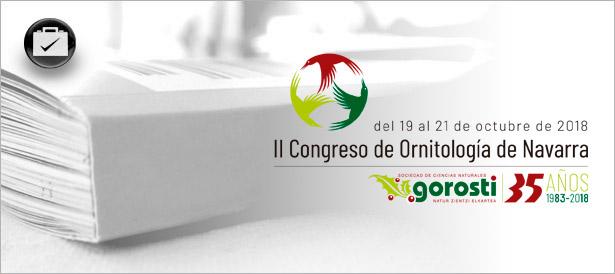 Congreso Ornitología - Gorosti