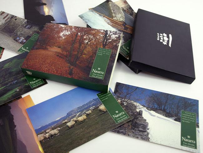 Colección postales Turismo de Navarra