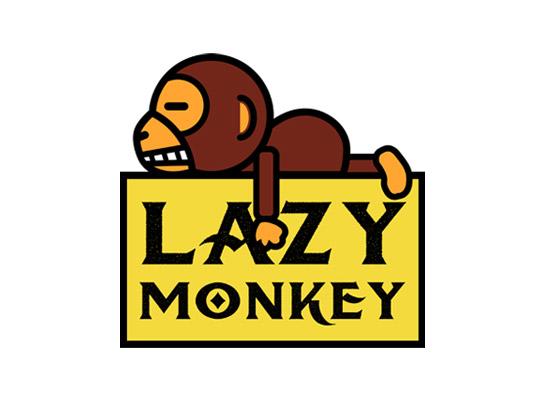 LAZY MONKEY logo
