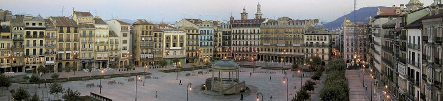 Pamplona, Plaza del Castillo