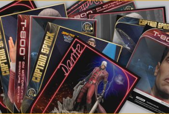 Darkside Studio Collectibles. Fichas de personaje <em>Character flyers</em>.