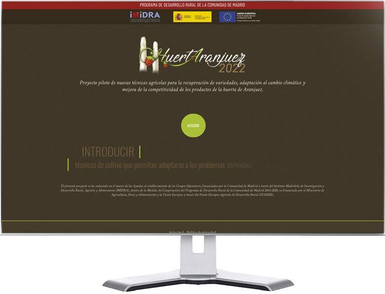 Huertaranjuez web